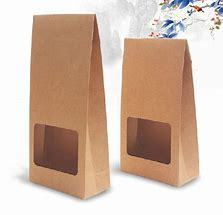 Paper Bags-Film Fronted-12pcs-Brown-70g./m2