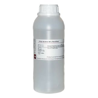 Ethyl Alcohol 96% 1L Ethanol, rectified/denatured, Bottle 1000 ml