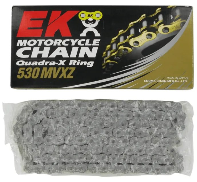 Best Dirt Bike Chain for Sand Dunes - EK MVXZ X-Ring