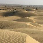 Sandboarding in Rajasthan, India