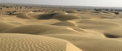Sam Sand Dunes, Jaisalmer, India