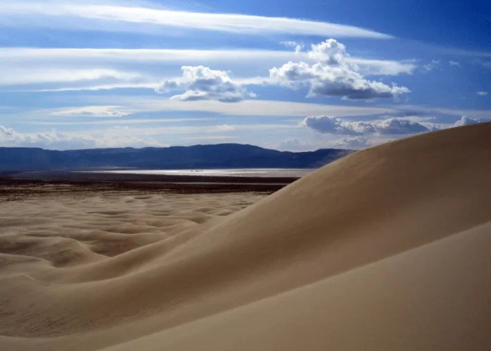 Sandboarding and Sand Duning in Nevada