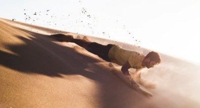 Sandboarding in Anna Bay NSW