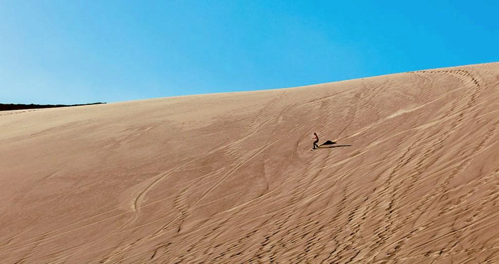 Sandboarding Death Valley / Mars Valley - Atacama Desert, Chile