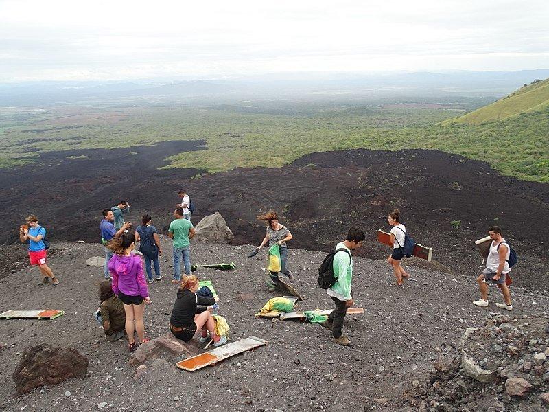 Volcano Boarding in Cerro Negro - Leon, Nicaragua