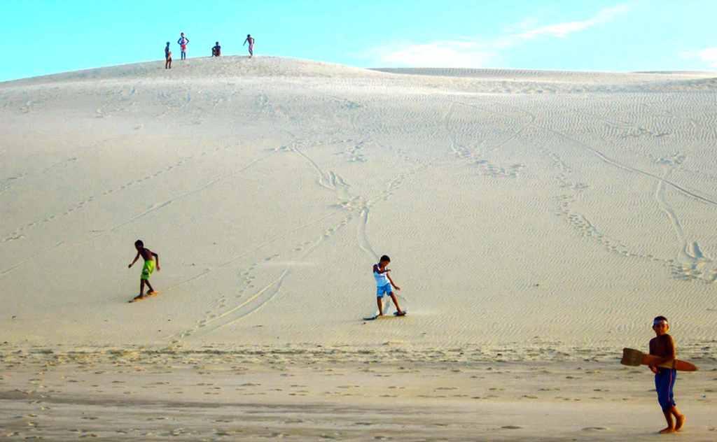 Sandboarding Mundaú, Brazil