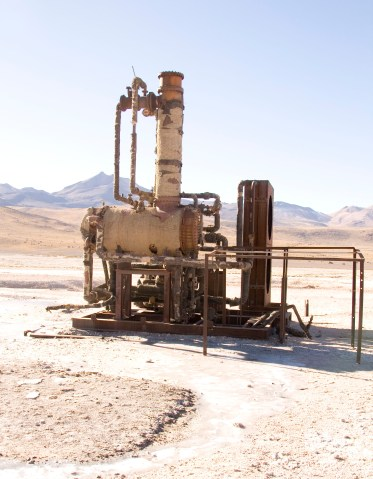 Essai geothermal...