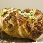 Домашний хлеб с луком и сыром рецепт