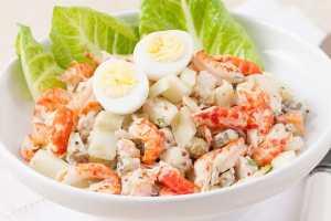Новогодние салаты простые и быстрые рецепты оливье