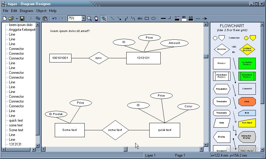 Simple and quick diagram designer sandalian diagram designer ccuart Image collections