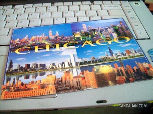 kartu pos dari chicago