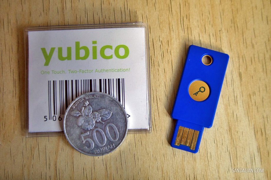 yubikey yubico security key unboxing