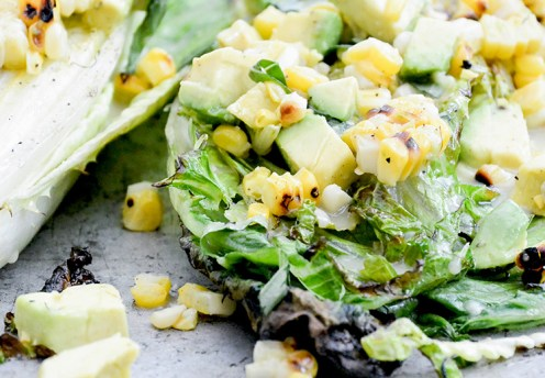 grilled-romaine-salad-with-corn-and-avocado