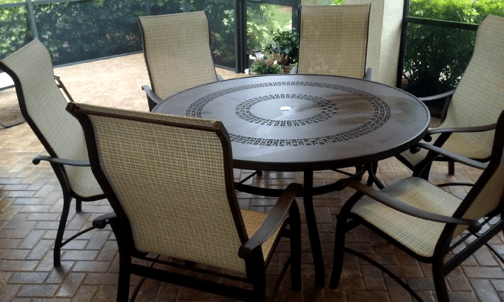 Table Sling Chairs