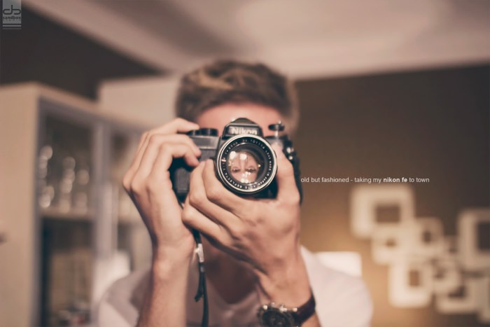 Old but fashioned – some film cameras