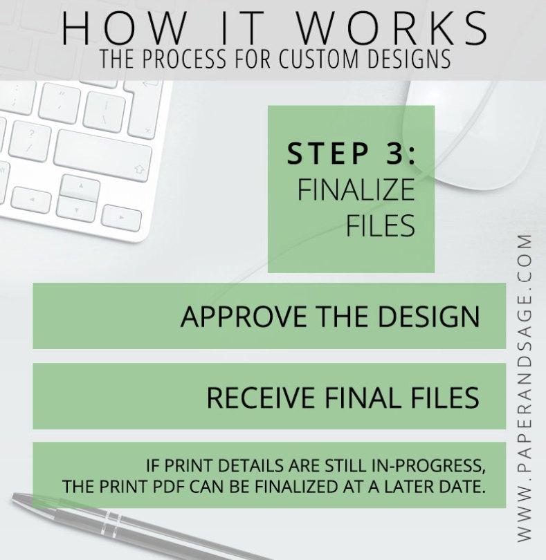 How it Works: Custom Flowchart Step 3