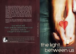 Print layout for The Light Between Us by Poppy Parkes