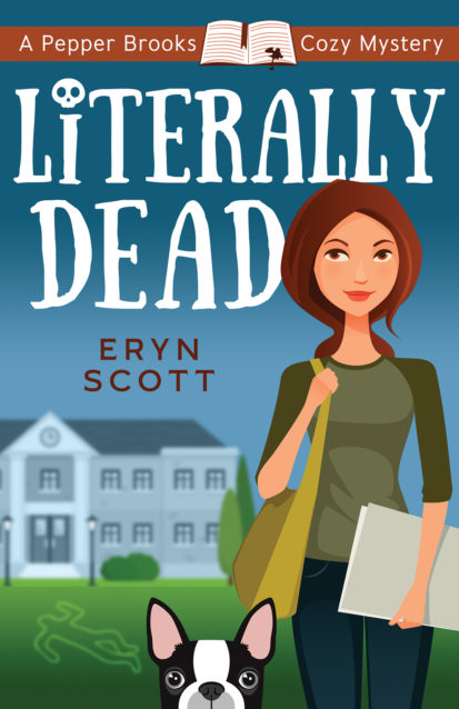 Book Cover for Literally Dead by Eryn Scott
