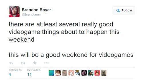 Weekend Tweet