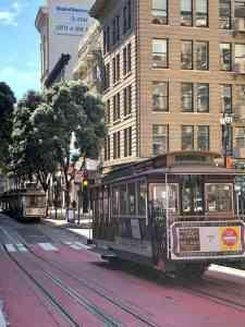 San Francisco during a rare sunny moment of GDC