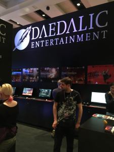 Daedalic Booth at PAX West
