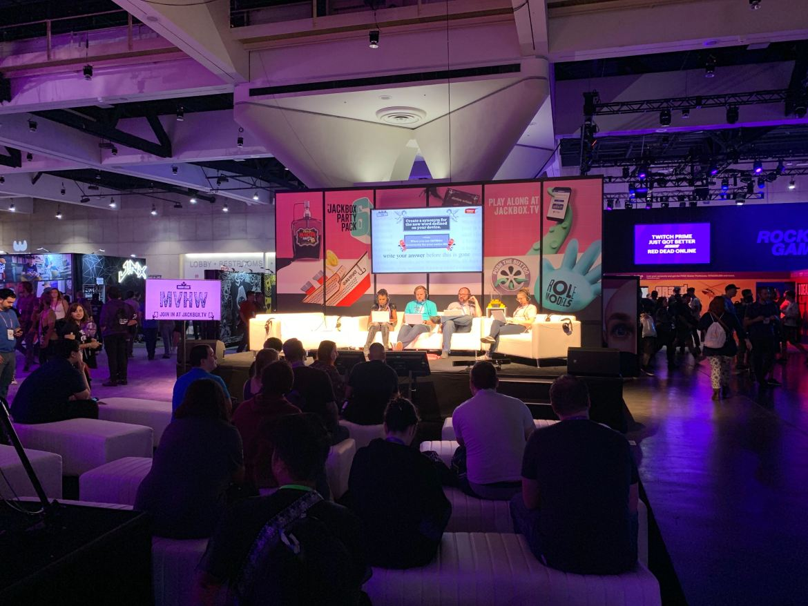 Jackbox Games at TwitchCon 2019