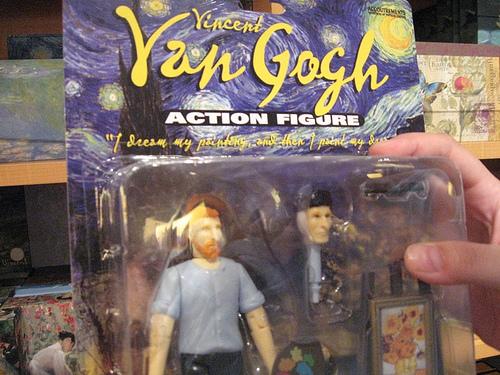 Vincent Van Gogh action figure