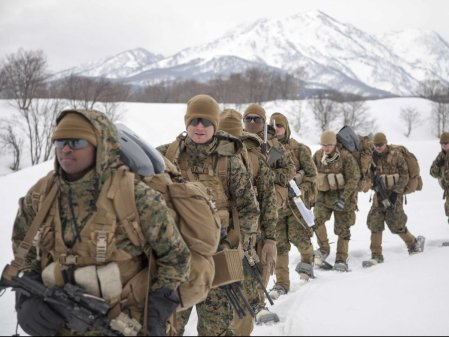 surviving marine corps ocs in winter