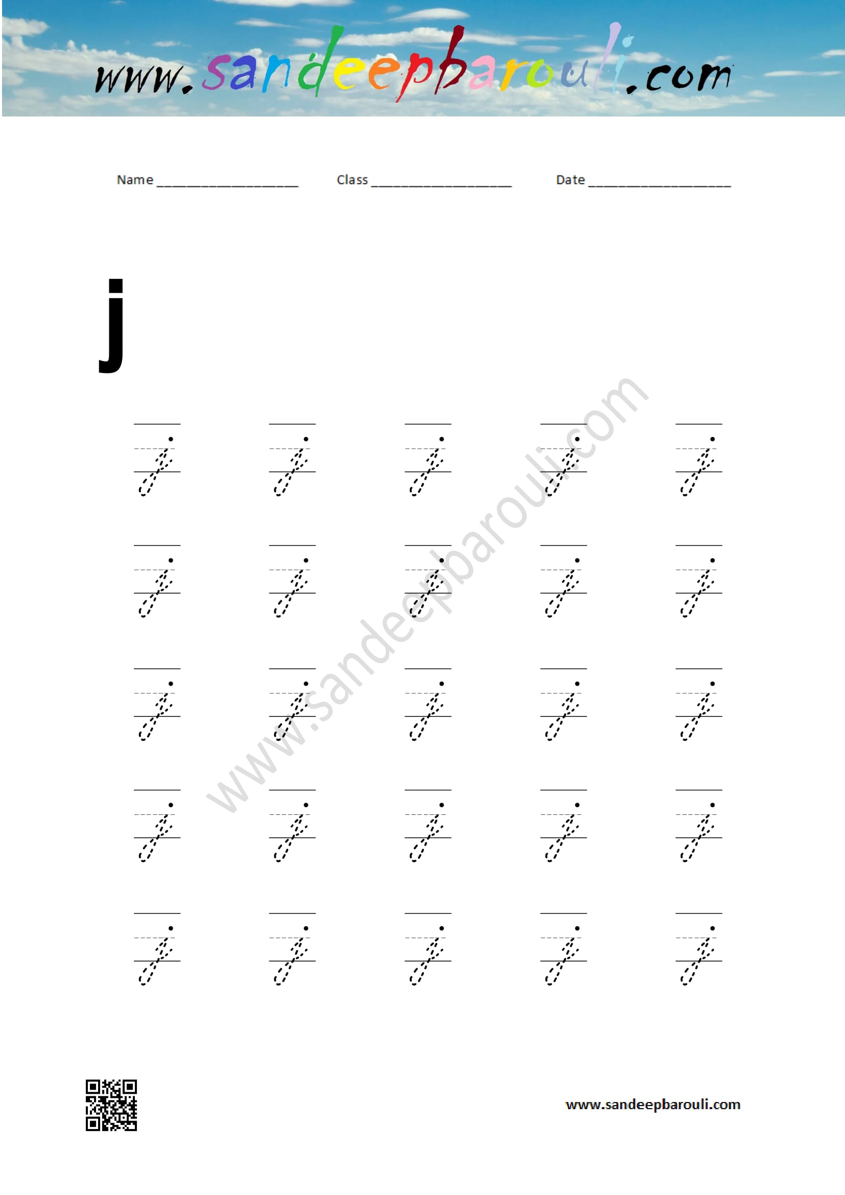 Cursive Small Letters