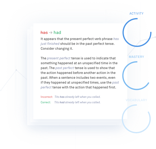 Grammarly English Explanation
