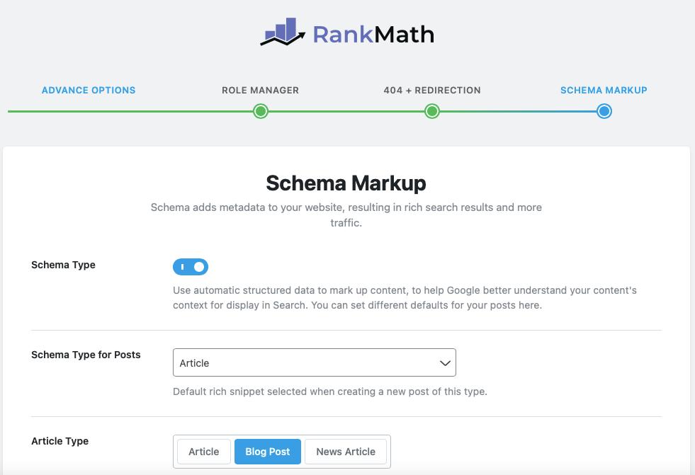 RankMath Schema Markup