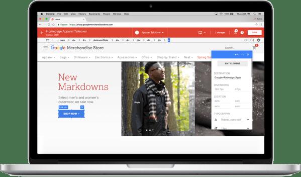 Google Optimize Landing Page