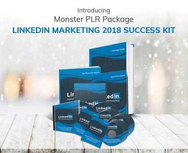 linkedin marketing 2018 success kit PLR review