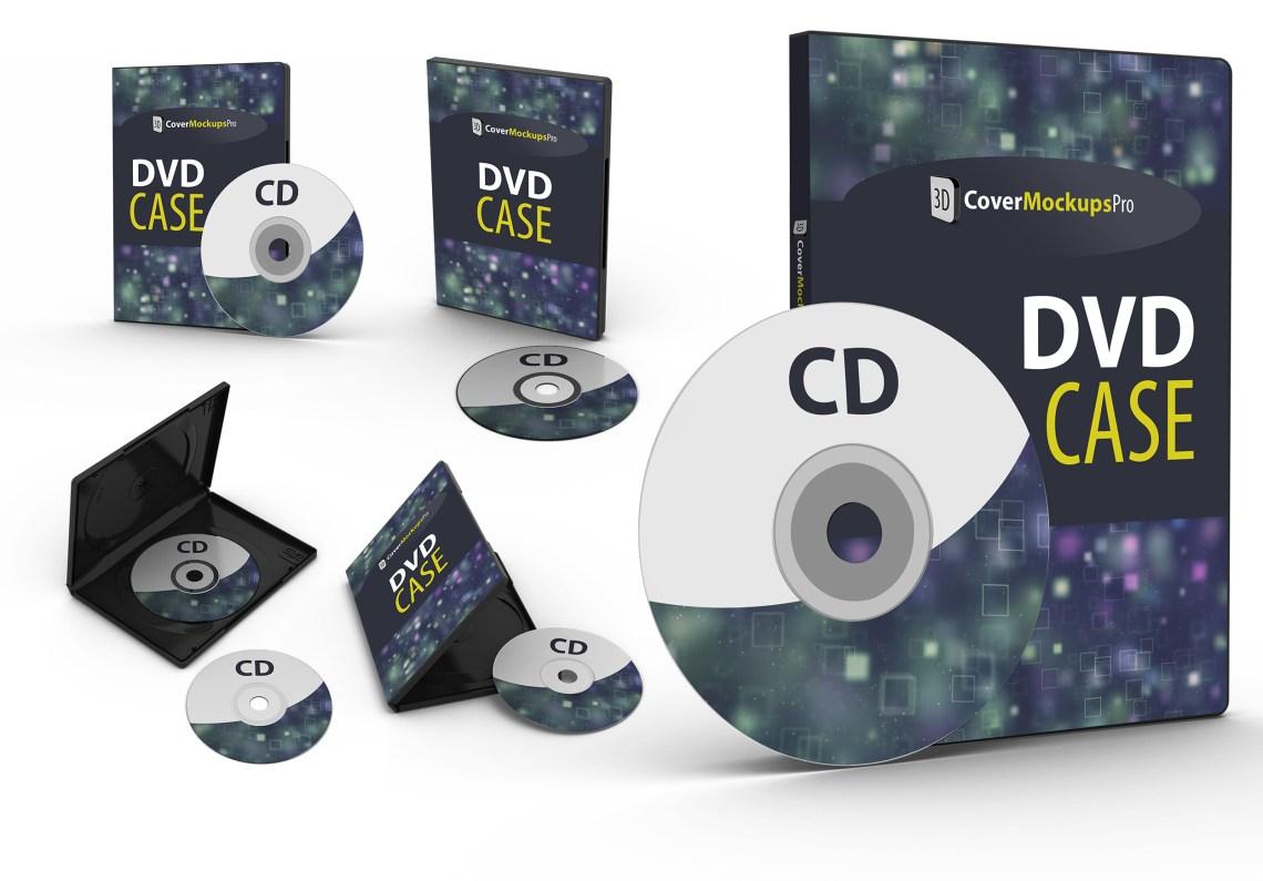 dvd case mockup pro
