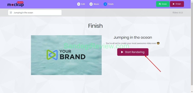 video app suite live mockup render