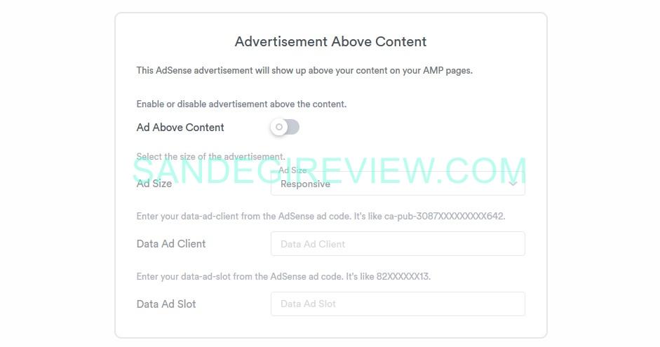 speedii amp ads feature
