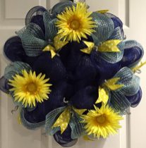 """Blue and Yellow Daisies"""