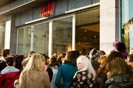H&M Versace Brussel