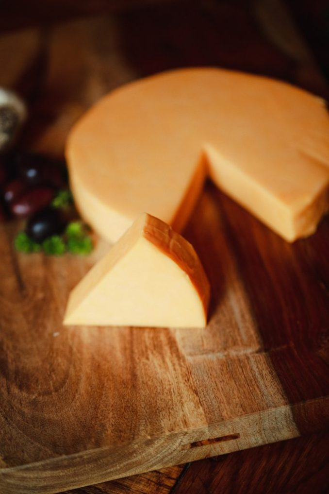 Cheddar Cheese Round - Sanders Meats