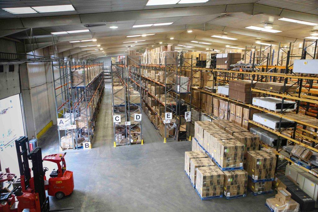 Northamptonshire warehousing storage
