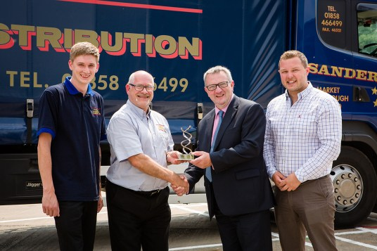 Stephen Sanderson Transport Ltd - Danny Hutcheson, Graham Marlow, Graham Leitch, Ed Sanderson_smll