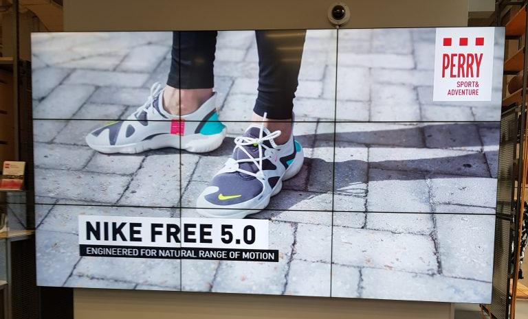 Perry x Nike Free 5.0 launch event