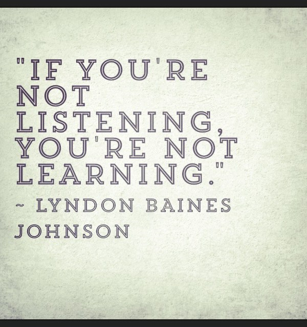 Listen With The Masters
