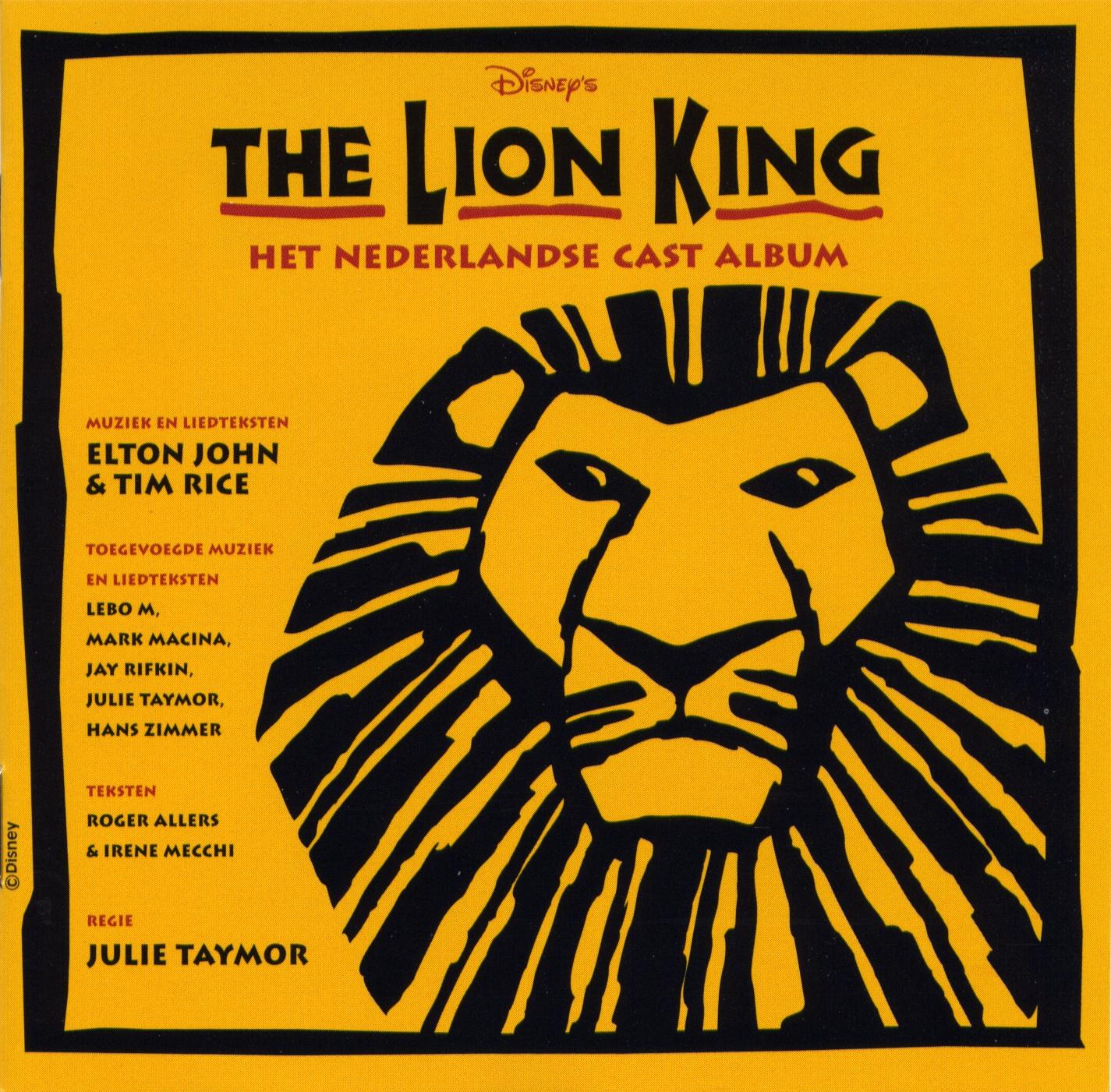 Musical - The Lion King - Dutch
