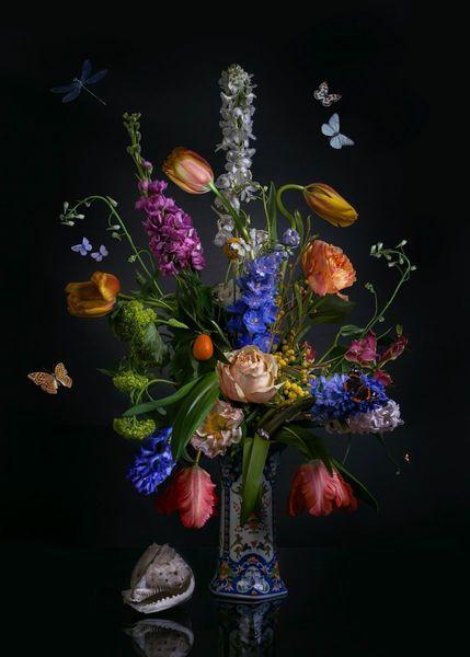 wall, flowerstill,flowerstills,stillifes.still lives,dutchlove,royaldutch,flowers