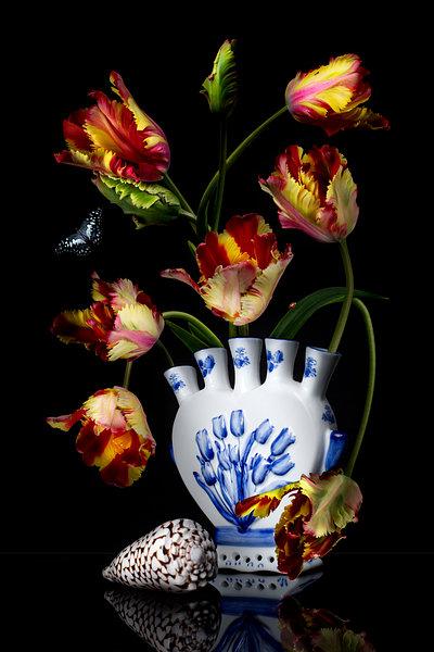 Royal Tulp een prachtige bloemstilleven voor in uw huis of kantoor