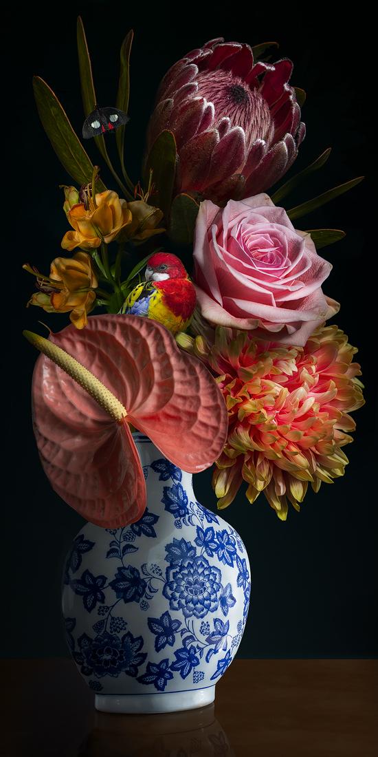 Royal Flower II te koop bij Galerie1400.nl