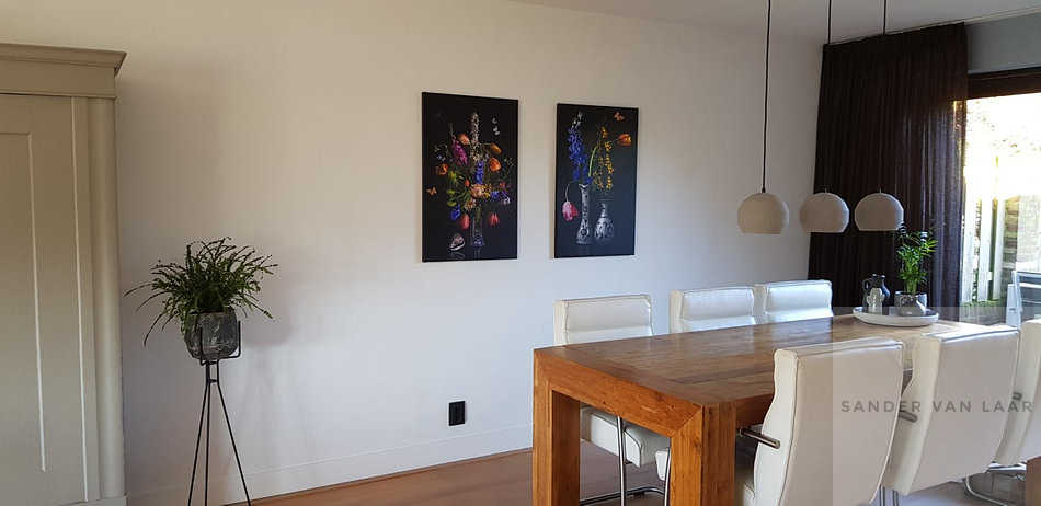 Clients interior with flowerstills