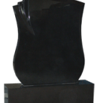 Black Tri Fold