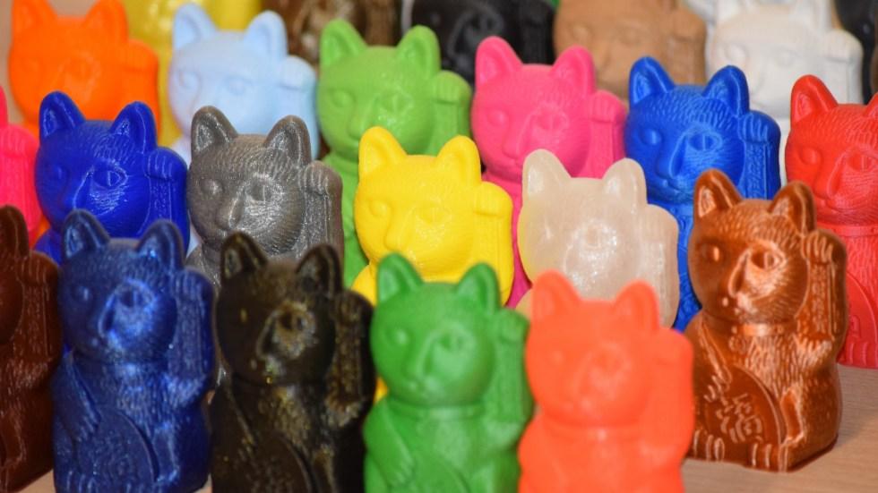Winkekatzen 3D-printed